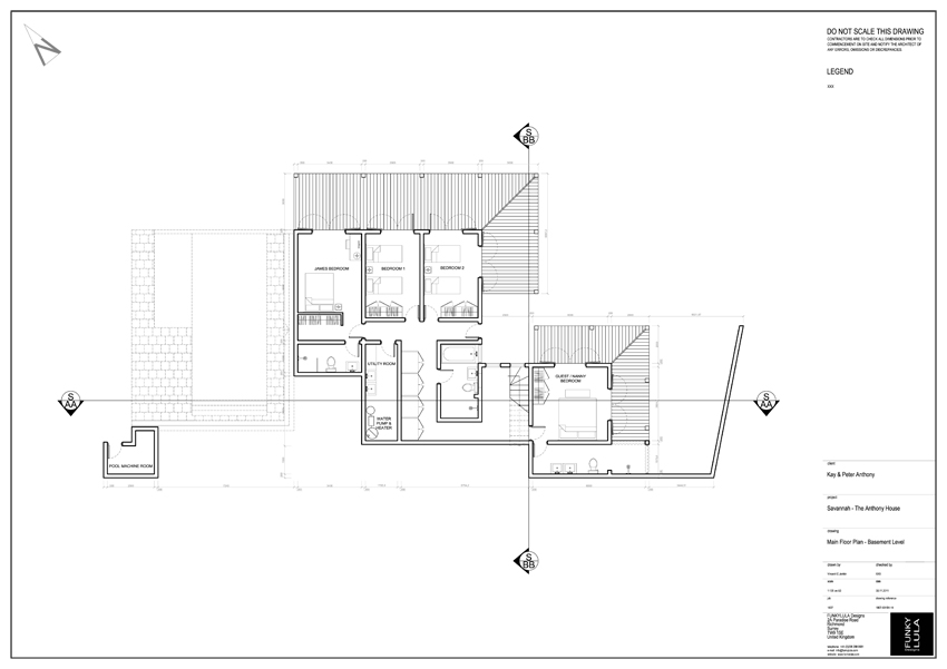 South Facing Ground Floor Elevation : South facing ground floor building elevations joy studio